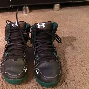 UnderArmour basketball ball shoes